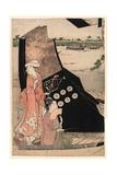 Senjo No Sarumawashi Giclee Print by Hosoda Eishi