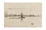 Price's Candle Works, 1875 Giclee Print by James Abbott McNeill Whistler