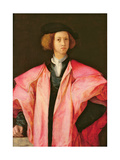 Portrait of a Young Man Giclee Print by Jacopo Pontormo