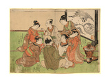 Kujibiki Lots [For Pairing]. [1772 or 1773] Giclee Print by Isoda Koryusai