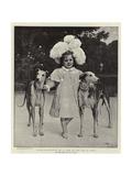 Alice Antoinette De La Mar at the Age of Five Giclee Print by Jan van Beers