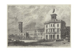 Osborne, Her Majesty's Marine Residence, Isle of Wight, the Terrace Giclee Print by J.l. Williams