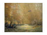 The German Fleet after Surrender, Firth of Forth, November 1918 Giclee Print by James Paterson