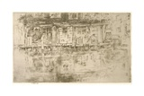 Long House, Dyers, Amsterdam, 1889 Giclee Print by James Abbott McNeill Whistler