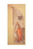 The Annunciation Giclée-tryk af Jacopo Pontormo