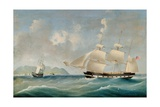 Seascape, 1850 Giclee Print by I. Tudgay