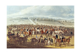 The Betting Post, Epsom, 1830 Giclee Print by James Pollard