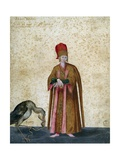 Pageboy of Great Sultan Giclee Print by Jacopo Ligozzi