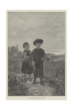Hans and Greta Giclee Print by Hubert Salentin