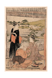 Yokyu Giclee Print by Hosoda Eishi