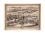 The Siege of Breda, 1628 Giclee Print by Jacques Callot