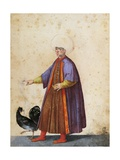 Turkish Man Wearing Turban Giclee Print by Jacopo Ligozzi