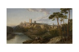 Richmond Castle, Yorkshire Giclee Print by James Webb