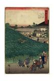 The Pine Tree of Naniwaya in Sakai of Senshu Province, September 1859 Giclee Print by Hiroshige II