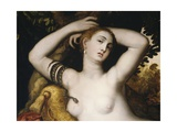 Asp Biting Cleopatra Giclee Print by Jan Massys