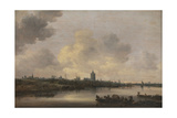 View of the City of Arnhem, 1646 Giclee Print by Jan Josephsz. Van Goyen