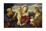 Sacra Conversazione, 16th Century Giclee Print by Jacopo Palma