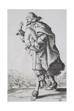 Etching from the Noblesse Series Giclee Print by Jacques Callot