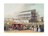 Bay Middleton, Winner of the Derby, 1836 Giclee Print by James Pollard