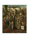 The Crucifixion, C.1507-C.1510 Giclee Print by Jacob Cornelisz van Oostsanen