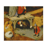 Detail from the Central Panel of Temptation of St. Anthony (Detail of 44162) Giclee Print by Hieronymus Bosch