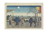 Jewel River of Koya in Kii Province, December 1863 Giclee Print by Hiroshige II