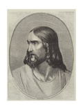 Head of the Saviour Giclee Print by Hippolyte Delaroche