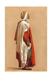 Study of a Man in Oriental Costume Giclee Print by Isidore Pils