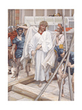 And They Put Him in His Own Raiment for 'The Life of Christ' Giclee Print by James Jacques Joseph Tissot