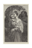 A Holy Family Giclee Print by Hippolyte Delaroche