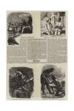 Literary Illustrations Giclée-tryk af James Dawson Watson