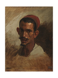 Study for the Head of a Young Arab, C.1860-62 Giclee Print by Isidore Pils