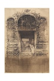 The Old Doorway from The First Venice Set, 1879-1880 Giclee Print by James Abbott McNeill Whistler