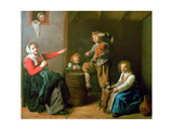 The Musical Party, 17th Century Giclee Print by Jan Miense Molenaer