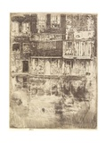 Square House, Amsterdam, 1889 Giclee Print by James Abbott McNeill Whistler