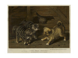 The First Meeting Giclee Print by Horatio Henry Couldery