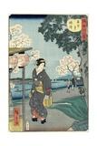 Vesper Bells at Chomei-Ji Temple, November 1861 Giclee Print by Hiroshige II