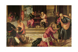 Christ Washing the Feet of the Disciples Giclee Print by Jacopo Robusti Tintoretto