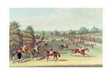 Epsom: Preparing to Start, 1830 Giclee Print by James Pollard