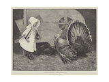 Exchanging Compliments, A Merry Christmas to You Giclee Print by James Elder Christie