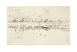 Zaandam, 1889 Giclee Print by James Abbott McNeill Whistler