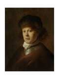 Portrait of Rembrandt Harmensz Van Rijn, 1628 Giclee Print by Jan The Elder Lievens