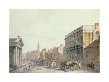 View of Whitehall, Looking Towards Charing Cross, 1790 Giclee Print by James Miller