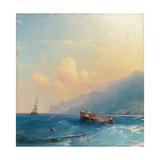 Searching for Survivors, 1863 Giclee Print by Ivan Konstantinovich Aivazovsky