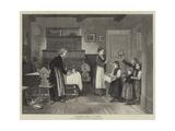 Grandmother's Birthday Giclee Print by Hubert Salentin
