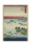 Actual View of Matsushima, Oshu Province, May 1859 Giclee Print by Hiroshige II