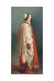 Study of an Arab Standing Giclee Print by Isidore Pils