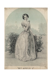 My Annie O, Litho by Wagner and Mcguigan, 1850 Giclee Print by James Fuller Queen