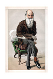 Portrait of Charles Darwin, 1871 Giclee Print by James Jacques Joseph Tissot