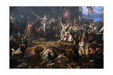 Kosciuszko in the Battle of Raclawice, 1794, 1888 Giclee Print by Jan Matejko